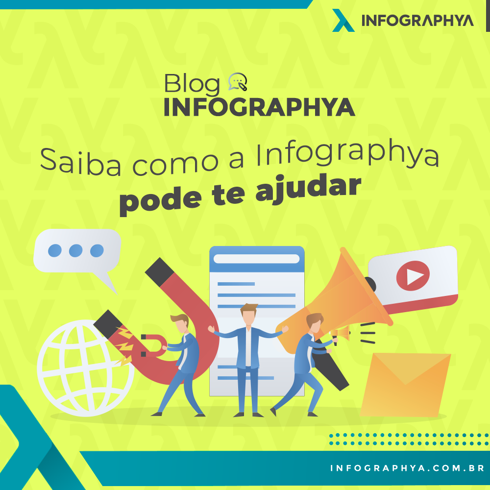 Saiba como a Infographya pode te ajudar